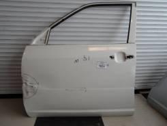 Дверь Toyota Probox левая белая перед голая 31