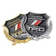 Шильд надпись эмблема TRD !, металл. в наличии