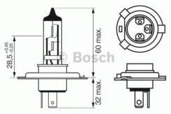 Лампа Trucklight H4 24V 75/70W Bosch 1987302441