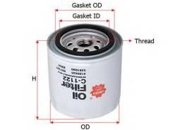 Фильтр масляный Sakura C1122