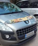 Дефлектор капота Peugeot 3008 2010 - 2013г Лев
