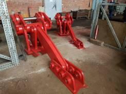 Механический бетонолом крашер на экскаватор на подшипниках скольжения
