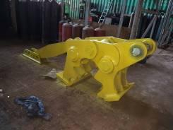 Механический крашер (измельчитель бетона) на подшипниках скольжения