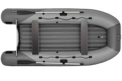Надувная лодка Фрегат 370 Air (лт, серая)