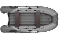 Надувная лодка Фрегат 420 Air (лт, серая)