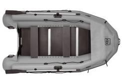 Надувная лодка Фрегат 330 Pro F (лп, серая)