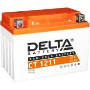 Мото аккумулятор Delta CT-1211