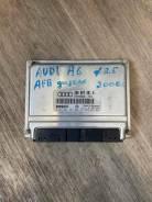 Блок управления двигателем ЭБУ Audi A6 4B0907401H