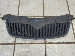 Решетка радиатора Skoda Fabia без молдинга 2007-2010