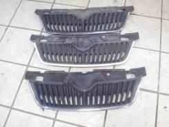 Решетка радиатора Skoda Fabia без молдинга 2010-2015