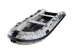 Лодка моторная RIB Gladiator 420AL_ A CAMO