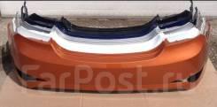 Бампер задний Hyundai Solaris 2014-2016 (в цвет кузова)