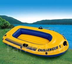 Лодка пвх Challenger 1 69365. Доставка 1 день! М-н Лалипусик