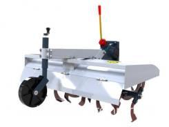 Почвофреза Скаут-100/120 на ременной трактор