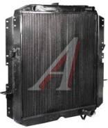 Радиатор водяной КРАЗ 260, медный, 4-х рядный
