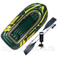 Надувная лодка Intex 68380 SeaHawk 3 Set