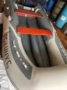Пятиместная надувная лодка и мотор