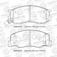 Колодки тормозные дисковые Avantech AV999