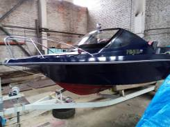 Продам каютный катер Suzuki GF 21 +Телега