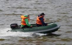 Лодка моторная Yukona 330 TS с пайолом (алюминиевый секционный)