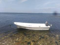 Пластиковая лодка Бриз 14 .