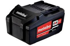 Аккумулятор Metabo 18В. 5.2Ач. LI-Power Extr. 625592000.