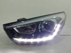 Фара ксенон с дхо Hyundai Ix35 Рестайлинг 2013-2015 [921012Y620] LM, передняя левая