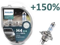 Комплект ламп Philips X-treme Vision Pro150% H4 3600K (2 шт. ) Новинка
