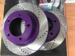 Перфорированные тормозные диски NIBK Land Cruiser 200 TLC200 LX570