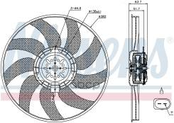 Вентилятор Audi Q5 / Sq5 (8r) (08-) 2.0 Tfsi Nissens арт. 85728