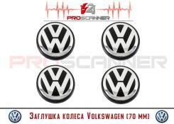Заглушка колеса Volkswagen (70мм) 7L6601149B