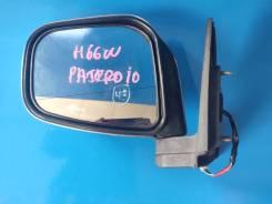 Зеркало переднее левое mitsubishi pajero io 1998-2007