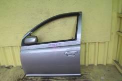 Дверь Toyota VITZ NCP15 SCP10 NCP10 SCP13 NCP13 2NZFE 1SZFE 2SZFE 1NZFE, левая передняя