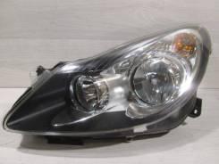 Фара галоген темная Corsa D [2006-2011] Хетчбэк 5-дв. [1226125], левая