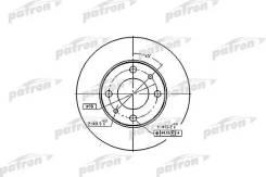 Диск тормозной передн FIAT: 124 66-75, 124 Familiare 67-75, 124 Spider 66-77, 124 купе 67-76, 125 67-74, 127 71-86, 127 Patron PBD1721