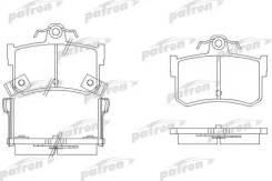 Колодки тормозные дисковые задн MG: MG TF 02-, MGF 95-02, MGR V8 92-95, Rover: 800 88-99, 800 хечбэк 88-99, 800 купе 92- Patron PBP917