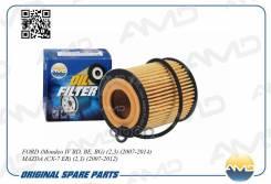 Фильтр Масляный Ford Mondeo/ Galaxy/ S-Max 1.8/ 2.0 00->/ Mazda 3/ 6/ Mps/ Cx-7/ Mpv 1.8/ 2.0/ 2.3 02-> AMD арт. AMD. FL222