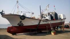 Продам японскую рыболовную шхуну