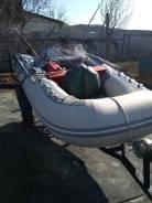 Лодка с мотором + телега