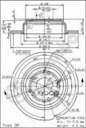 Диск Тормозной Задн Honda: Legend Ii 91-96, Legend Ii Купе 91-96, Shuttle 97-02 Brembo арт. 08.6898.10