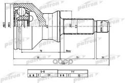 Шрус Наружный 24x62x32 Land Rover Discovery Ii (Lt) 4.0 V8 [56 D] 185 Л. С. Бензиновый 1998 - 2004, 2.5 Td5 [15 P 10 P] 139 Л. С. Дизель 1999 - 2004 Patron арт. PCV1779
