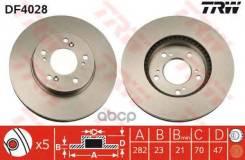 Диск Тормозной Передний Honda Cr-V I/Hr-V/Odussey / Acura Legend Iii Trw Df4028 TRW арт. DF4028