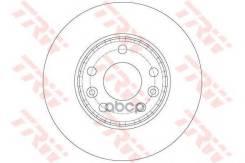 Диск Тормозной Dacia: Duster 1.5 Dci/1.5 Dci 4x4 10- Renault: Fluence Z. E. 10-, Grand Scenic Iii 1.5 Dci 09-, Laguna Iii 1.5 Dci/1.6 16v/3.5 V6 07-, Laguna Iii Gra TRW арт. DF6072