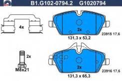 Колодки Торм. Пер. Galfer арт. B1-G102-0794-2