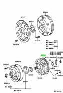 Прокладка насоса АКПП 35313-60010 (A44-GSK02-TO, A440F, A442F, AW450-43LE) Toyota 3531360010