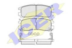Колодки Дисковые Задние ! Opel Sintra 2.2i/2.2tdi 96-99, Cadillac Deville 4.5 97> Icer арт. 141192 141192_ Icer 141192