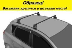 Багажник на крышу Mazda 6 2007-2012г. Седан и Хэтчбек! (перекладины Квадрат 1,2 метра)
