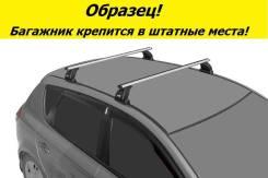Багажник на крышу Mazda 6 2007-2012г. Седан и Хэтчбек! (перекладины Овал 1,2 метра)