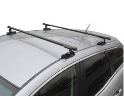 Багажник на крышу Kia Ceed 2006-2012 года Хэтчбек! (Креп. С15, перекладины Квадрат 1,2 метра)