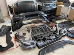 Комплект рестайлинга для Land Cruiser Prado 09-20г в Lexus GX460 2020г